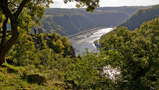 Rheinsteig, View from Loreley