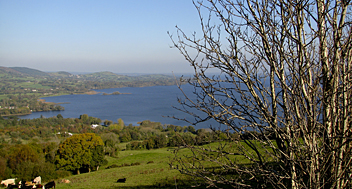 County Clare, Lough Derg from Ballycuggaran